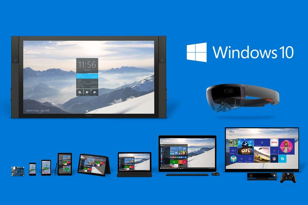 ขนาดไม่ใช่สิ่งสำคัญสำหรับ Microsoft อีกต่อไป เพราะ Windows 10 พร้อมรองรับทุกอย่าง