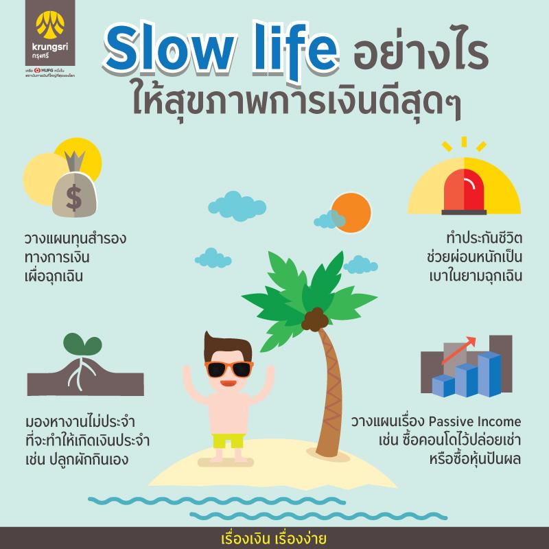 Slow life_Info