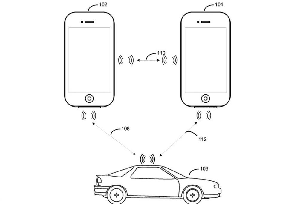 หนึ่งในสิทธิบัตรเกี่ยวกับรถยนต์ของ Apple แสดงให้เห็นความสามารถปลดล็อกรถโดยใช้สมาร์ทโฟน