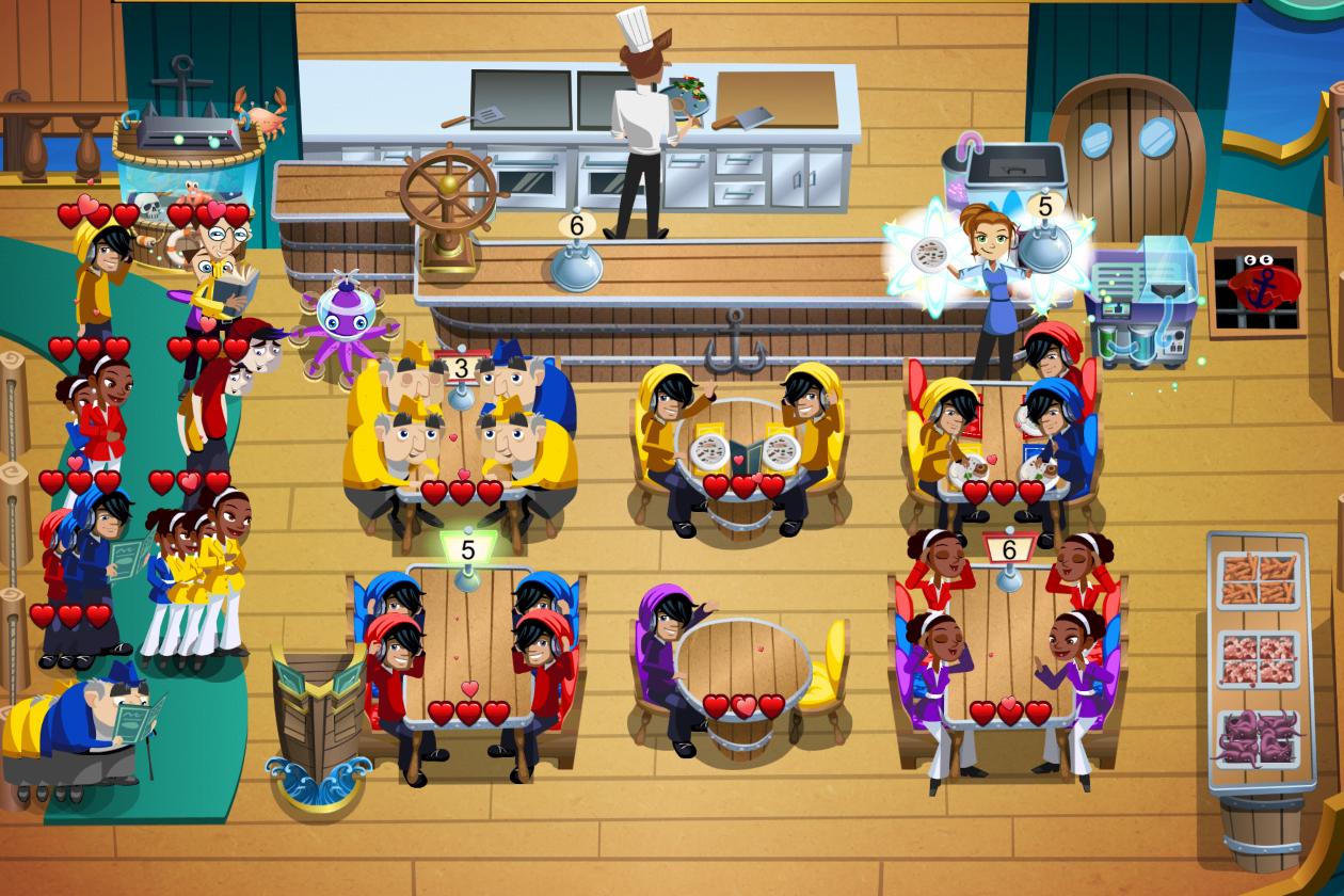 Diner Dash ที่จะต้องจัดเสิร์ฟอาหารเมื่อมีลูกค้าเข้ามาสั่ง นักศึกษาอาจจะต้องนำความรู้ในเรื่องของกาแฟชนิดต่างๆ ใส่เข้าไปในเกมด้วย