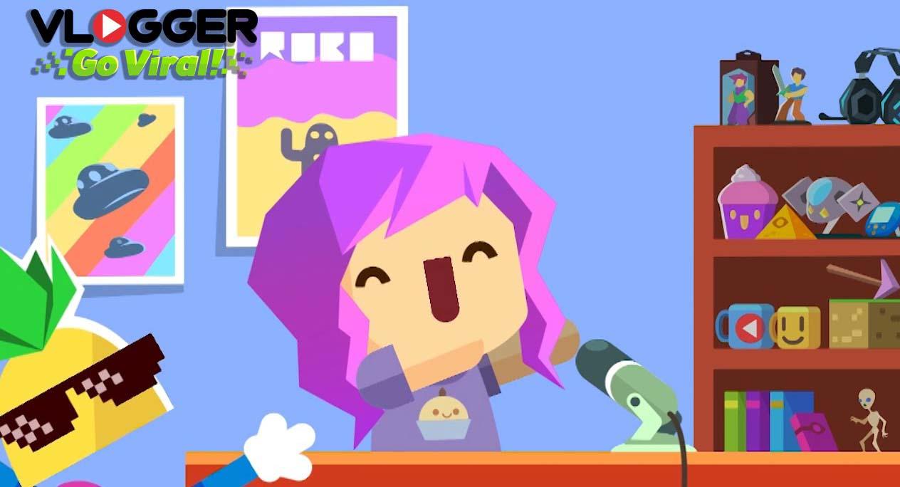 เกม Vlogger go Viral เป็นเกมสมัยใหม่ ที่มีจุดขายการแฝงสาระเข้าไป
