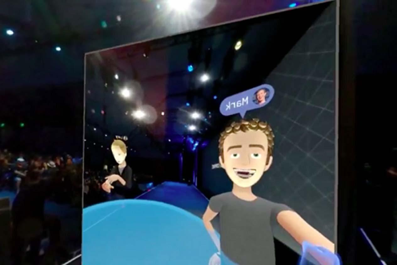 มาร์ค ซัคเคอร์เบิร์ก ใช้ Oculus Rift และพูดติดตลกบนเวทีว่า ตัวเองดูเหมือน จัสติน ทิมเบอร์เลค