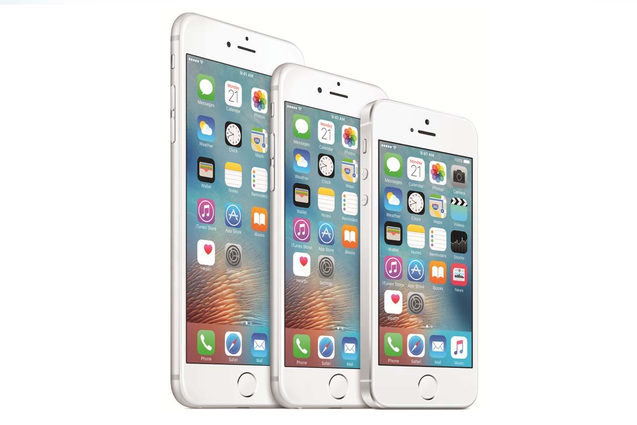 ครอบครัว iPhone ซึ่งตอนนี้มี 3 ขนาดด้วยกัน