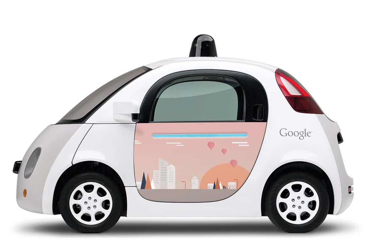 (หวังว่า) อีกไม่นานเราคงเห็นรถยนต์ขับเคลื่อนอัตโนมัติแบบนี้วิ่งกันเต็มเมือง