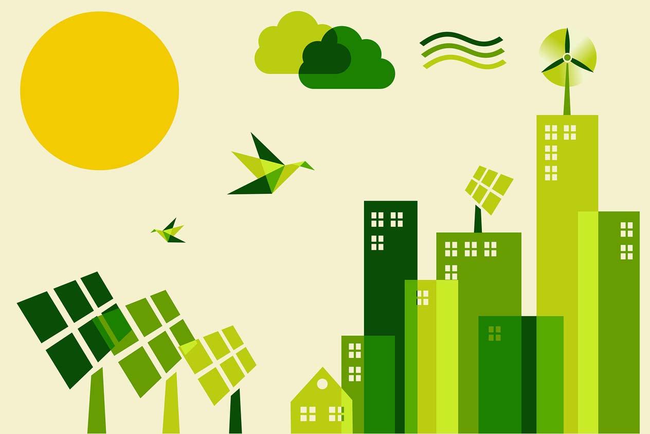เมืองในอนาคตคงต้องพึ่งพลังงานสะอาดแบบนี้