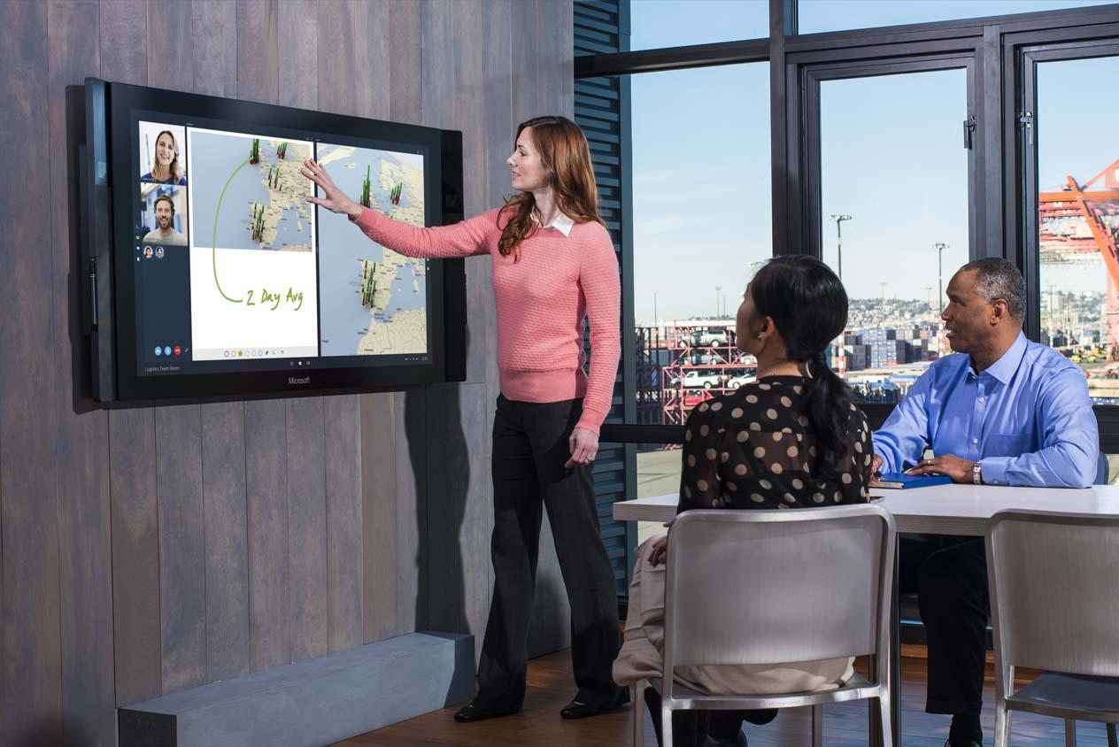 Microsoft Surface Hub อาจมาแทนที่ Flip Chart ในอนาคต