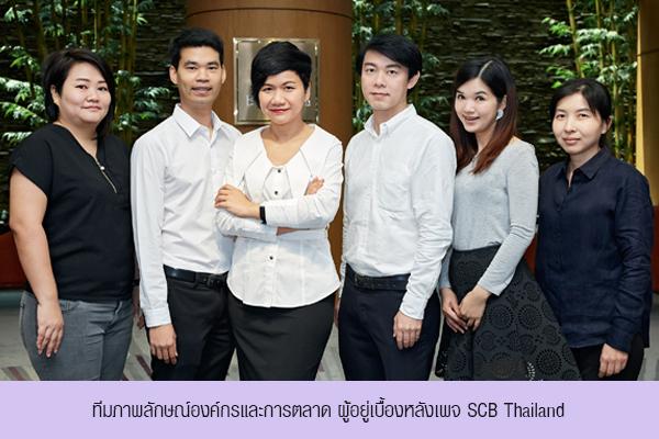 ทีมภาพลักษณ์องค์กรและการตลาด SCB Thailand