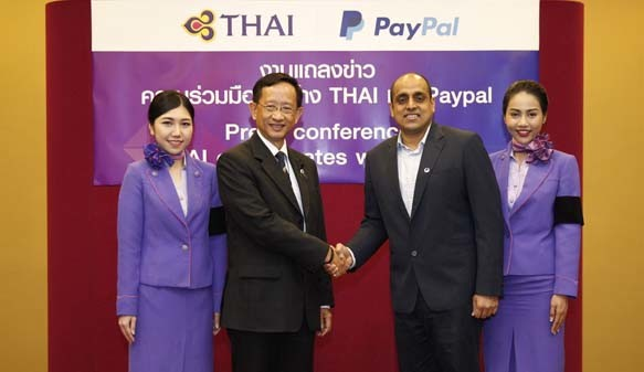 THAI-AIRWAY-PAYPAL